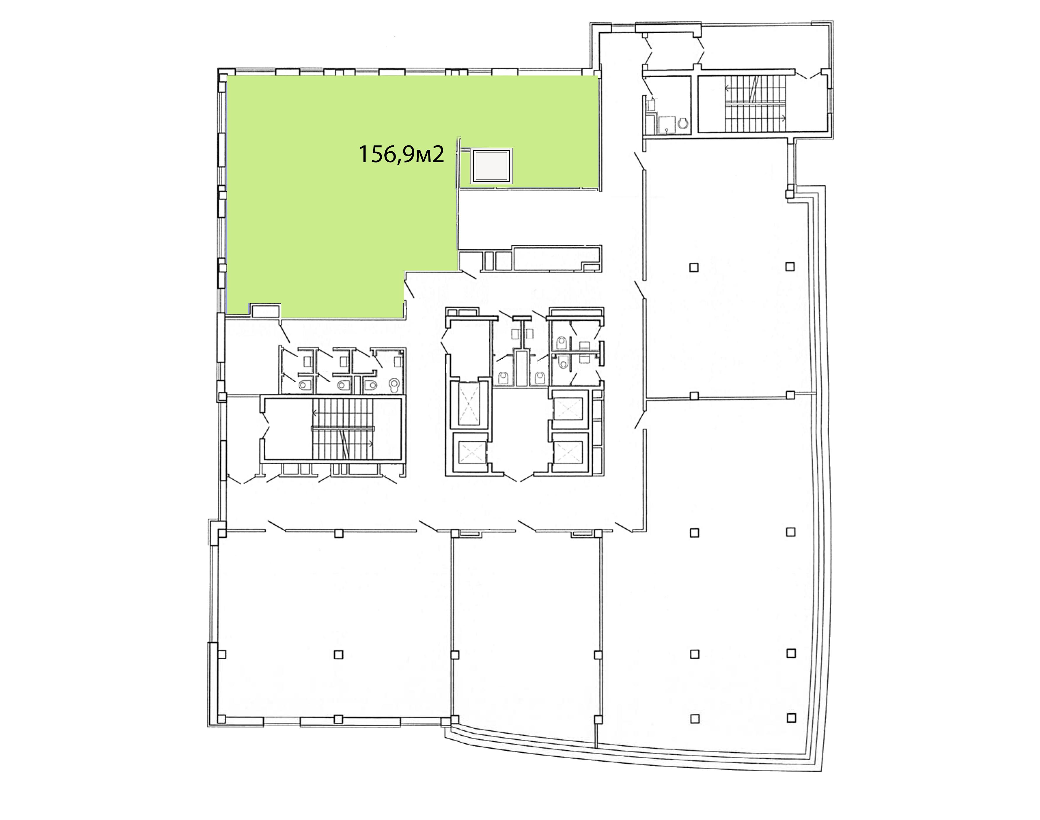 4 этаж Silver Tower